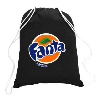 Original Orange Drawstring Bags Designed By Jarl Cedric