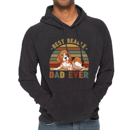 Best Beagle Dad Ever Retro Vintage Father's Day Vintage Hoodie Designed By Vip.pro123