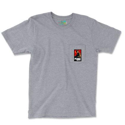 Monkey Warriors Planet Pocket T-shirt Designed By Jarl Cedric