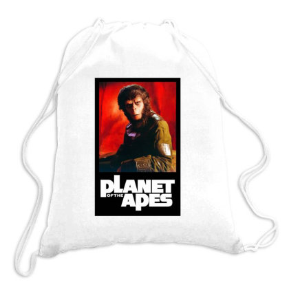 Monkey Warriors Planet Drawstring Bags Designed By Jarl Cedric