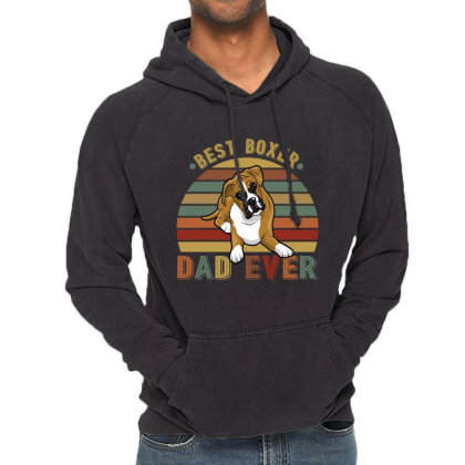Best Boxer Dad Ever Retro Vintage Father's Day Vintage Hoodie Designed By Vip.pro123