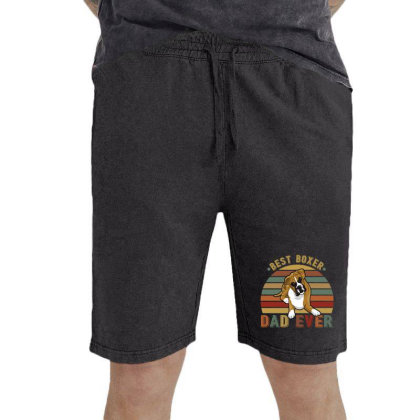 Best Boxer Dad Ever Retro Vintage Father's Day Vintage Short Designed By Vip.pro123