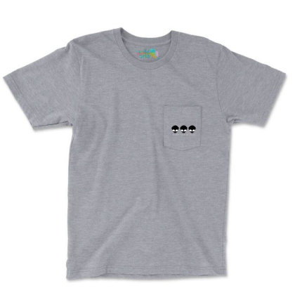 Aliens Made Me Do It. Pocket T-shirt Designed By Cuser4107