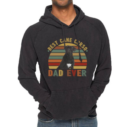 Best Cane Corso Dad Ever Retro Vintage Father's Day Vintage Hoodie Designed By Vip.pro123