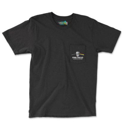 Pink Band Pocket T-shirt Designed By Jarl Cedric