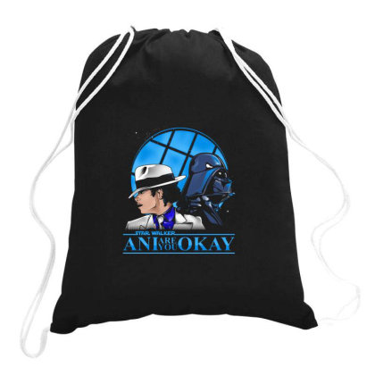 Are You Ok Ani Drawstring Bags Designed By Cuser4107