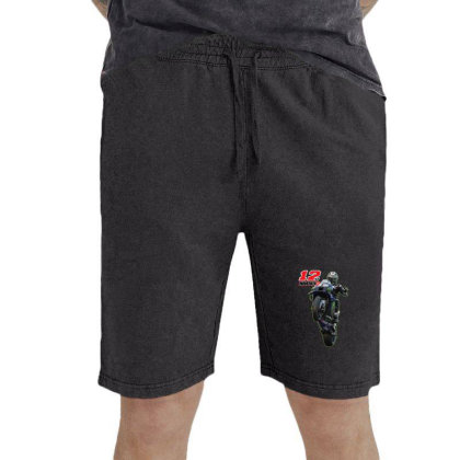 2 Maverick ViÑales Vintage Short Designed By Lion901217