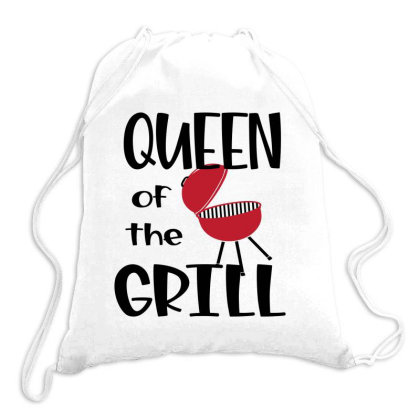 Queen Of The Grill Drawstring Bags Designed By Sabakotaboy