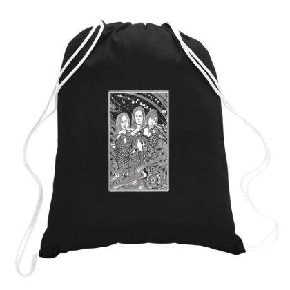 Charmed Brew Drawstring Bags Designed By Cuser4107