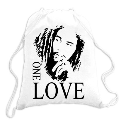 One Love Reagae Drawstring Bags Designed By Tht