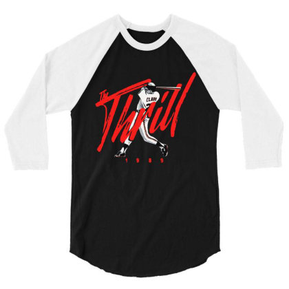 The Thrill 1989 Will Clark 3/4 Sleeve Shirt Designed By Tht