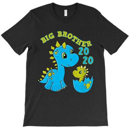 Kids Big Brother 2020 Shirt Dino Big Brother Dinosaur T-shirt Designed By Conco335@gmail.com