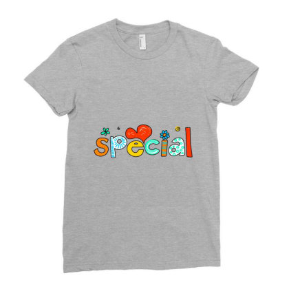 Typography Text Art T Shirts Ladies Fitted T-shirt Designed By Chiks