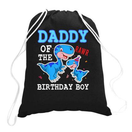 Dad Of The Birthday Boy Drawstring Bags Designed By Kakashop