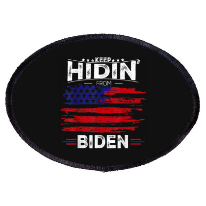 Keep Hidin From Biden Oval Patch Designed By Kakashop
