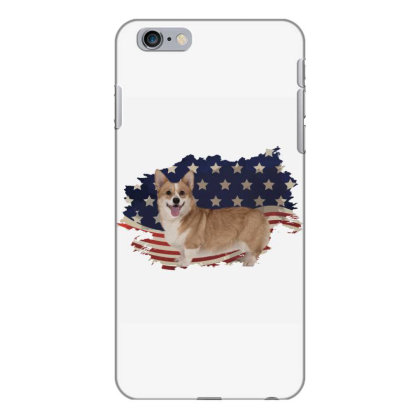 Corgi American Flag Usa Patriotic  4th Of July Gift Iphone 6 Plus/6s Plus Case Designed By Vip.pro123