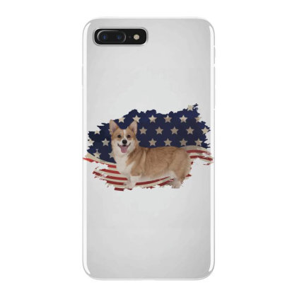 Corgi American Flag Usa Patriotic  4th Of July Gift Iphone 7 Plus Case Designed By Vip.pro123