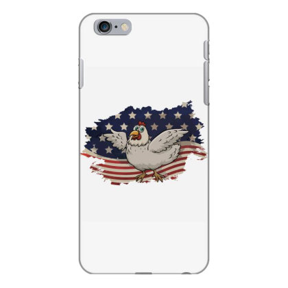 Chicken American Flag Usa Patriotic  4th Of July Gift Iphone 6 Plus/6s Plus Case Designed By Vip.pro123