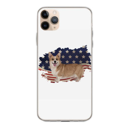 Corgi American Flag Usa Patriotic  4th Of July Gift Iphone 11 Pro Max Case Designed By Vip.pro123