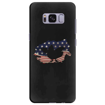 Chickens Hen American Flag Usa Patriotic  4th Of July Gift Samsung Galaxy S8 Plus Case Designed By Vip.pro123
