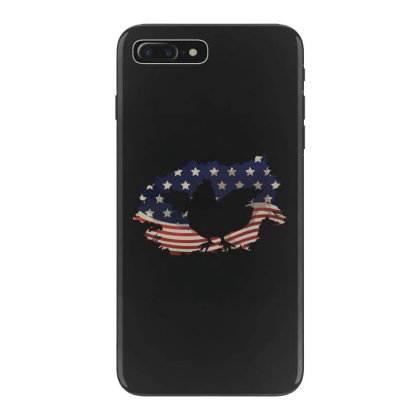 Chickens Hen American Flag Usa Patriotic  4th Of July Gift Iphone 7 Plus Case Designed By Vip.pro123