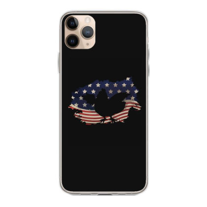 Chickens Hen American Flag Usa Patriotic  4th Of July Gift Iphone 11 Pro Max Case Designed By Vip.pro123