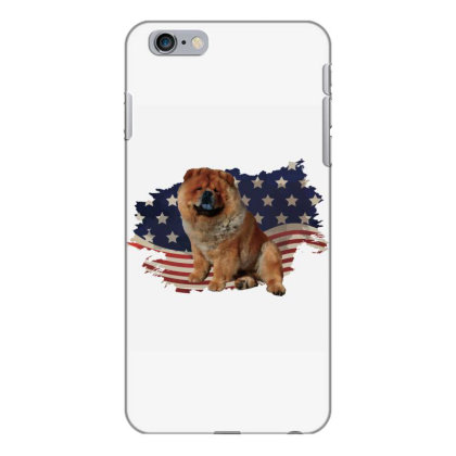 Chow Shepherd American Flag Usa Patriotic  4th Of July Gift Iphone 6 Plus/6s Plus Case Designed By Vip.pro123