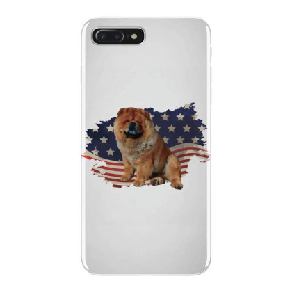 Chow Shepherd American Flag Usa Patriotic  4th Of July Gift Iphone 7 Plus Case Designed By Vip.pro123