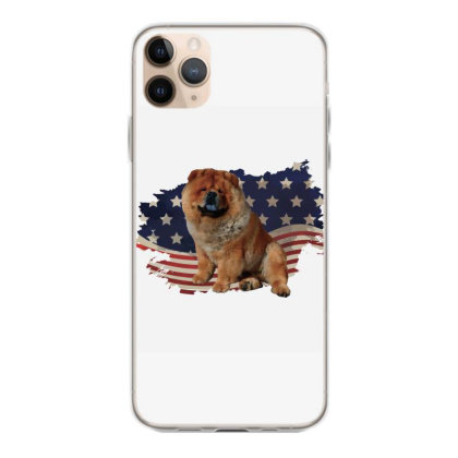 Chow Shepherd American Flag Usa Patriotic  4th Of July Gift Iphone 11 Pro Max Case Designed By Vip.pro123