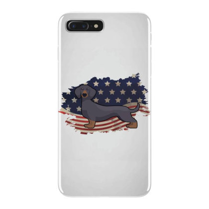 Dachshund American Flag Usa Patriotic  4th Of July Gift Iphone 7 Plus Case Designed By Vip.pro123