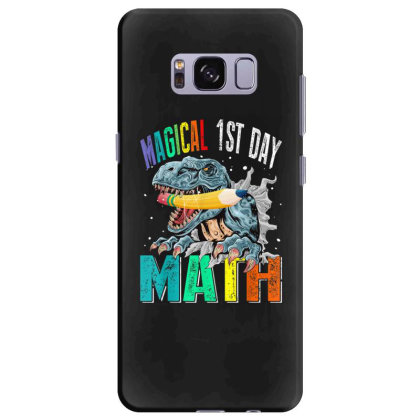 Magical 1st Day Math Dinosaur Back To School Samsung Galaxy S8 Plus Case Designed By Kakashop