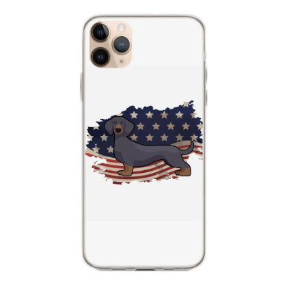 Dachshund American Flag Usa Patriotic  4th Of July Gift Iphone 11 Pro Max Case Designed By Vip.pro123