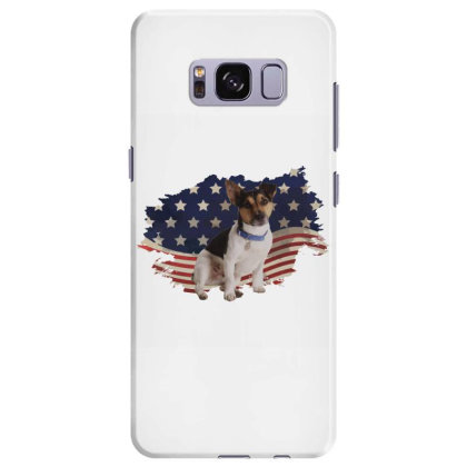Terrier American Flag Usa Patriotic  4th Of July Gift Samsung Galaxy S8 Plus Case Designed By Vip.pro123