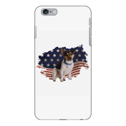Terrier American Flag Usa Patriotic  4th Of July Gift Iphone 6 Plus/6s Plus Case Designed By Vip.pro123