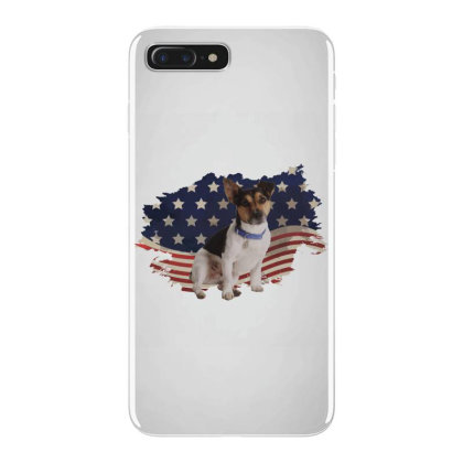 Terrier American Flag Usa Patriotic  4th Of July Gift Iphone 7 Plus Case Designed By Vip.pro123
