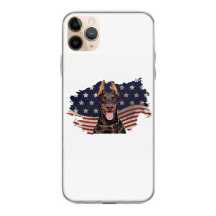 Doberman American Flag Usa Patriotic  4th Of July Gift Iphone 11 Pro Max Case Designed By Vip.pro123