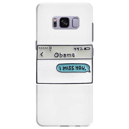Obama I Miss You Samsung Galaxy S8 Plus Case Designed By Kakashop