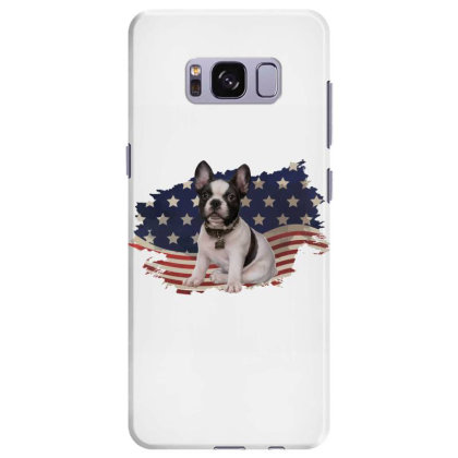 French Bulldog American Flag Usa Patriotic  4th Of July Gift Samsung Galaxy S8 Plus Case Designed By Vip.pro123