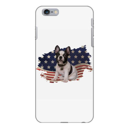 French Bulldog American Flag Usa Patriotic  4th Of July Gift Iphone 6 Plus/6s Plus Case Designed By Vip.pro123