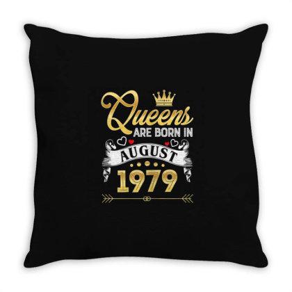 Queens August 1979 Throw Pillow Designed By Kakashop