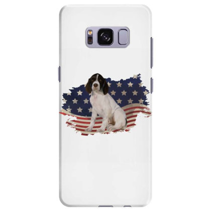 French Spaniel American Flag Usa Patriotic  4th Of July Gift Samsung Galaxy S8 Plus Case Designed By Vip.pro123