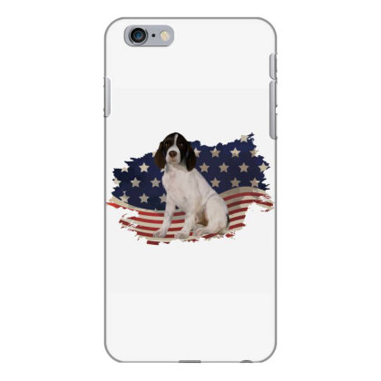 French Spaniel American Flag Usa Patriotic  4th Of July Gift Iphone 6 Plus/6s Plus Case Designed By Vip.pro123