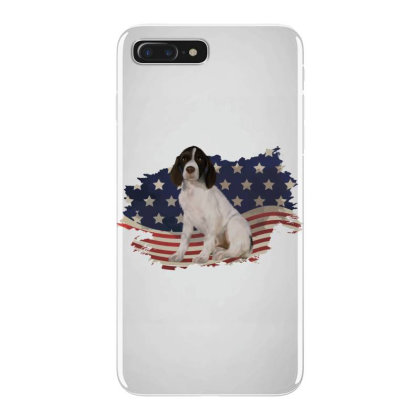 French Spaniel American Flag Usa Patriotic  4th Of July Gift Iphone 7 Plus Case Designed By Vip.pro123