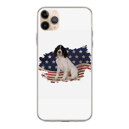 French Spaniel American Flag Usa Patriotic  4th Of July Gift Iphone 11 Pro Max Case Designed By Vip.pro123