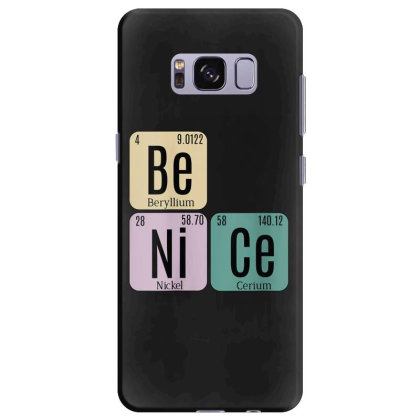 Science Be Nice Periodic 1 Samsung Galaxy S8 Plus Case Designed By Kakashop