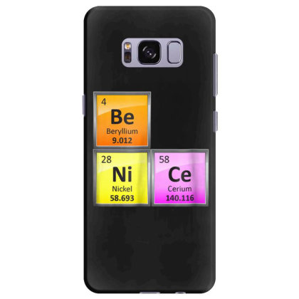 Science Be Nice Periodic Samsung Galaxy S8 Plus Case Designed By Kakashop
