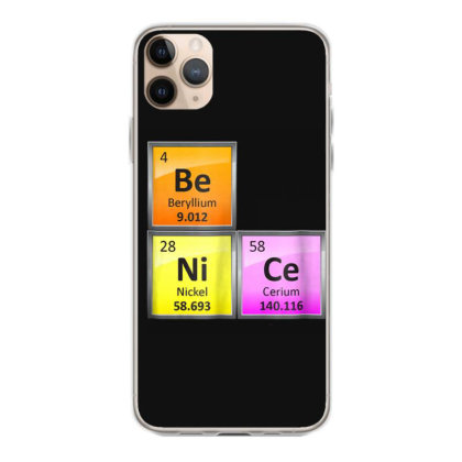 Science Be Nice Periodic Iphone 11 Pro Max Case Designed By Kakashop