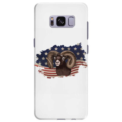 Goat American Flag Usa Patriotic  4th Of July Gift Samsung Galaxy S8 Plus Case Designed By Vip.pro123