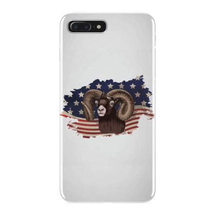 Goat American Flag Usa Patriotic  4th Of July Gift Iphone 7 Plus Case Designed By Vip.pro123