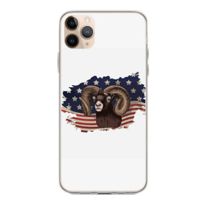 Goat American Flag Usa Patriotic  4th Of July Gift Iphone 11 Pro Max Case Designed By Vip.pro123